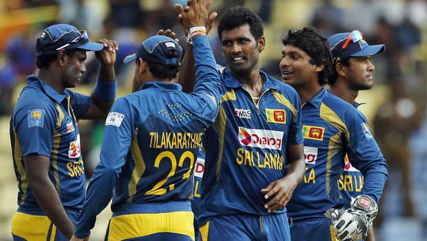 "A ""reluctant"" Lankan team off to India for five ODI series"