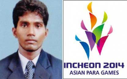 Sri Lankans win Gold and Bronze at Asian Para Games in South Korea