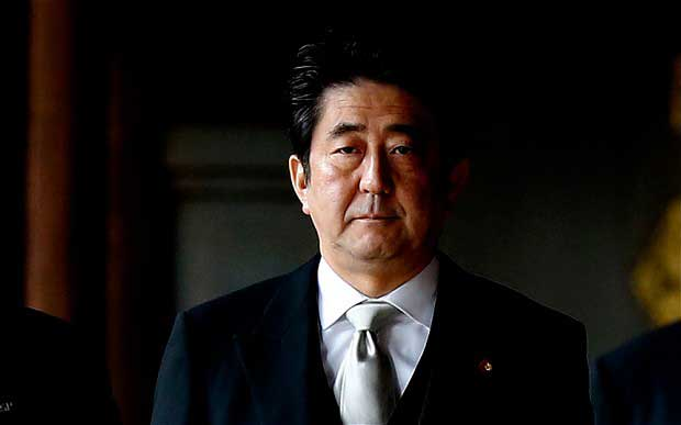 Japanese PM says  Japan would not be given in to terrorism