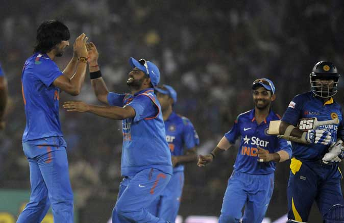 India beats Sri Lanka in first ODI