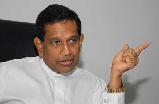 He will not go when he is defeated: Rajitha Senaratne