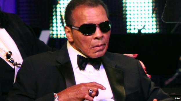 Boxing legend Muhammad Ali hospitalised