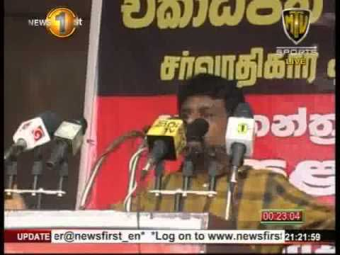 "Anura Kumara comments on need for politicians who are ""bought"""