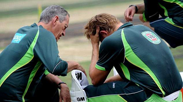 Shane Watson 'shaken' after  bouncer
