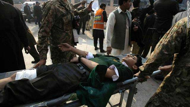 City of Peshawar mourns after Taliban attack