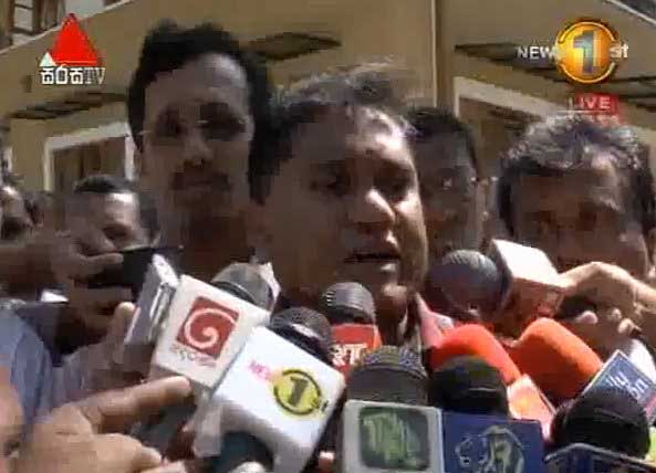 Harin Fernando makes a request from Uva Province Governor (Watch Video)