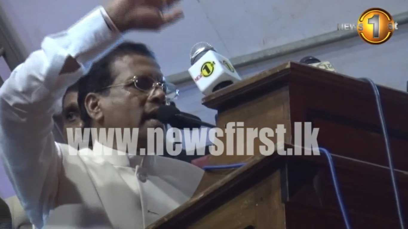 G L Peiris requests that 'a public opinion which is conducive to the country be created""