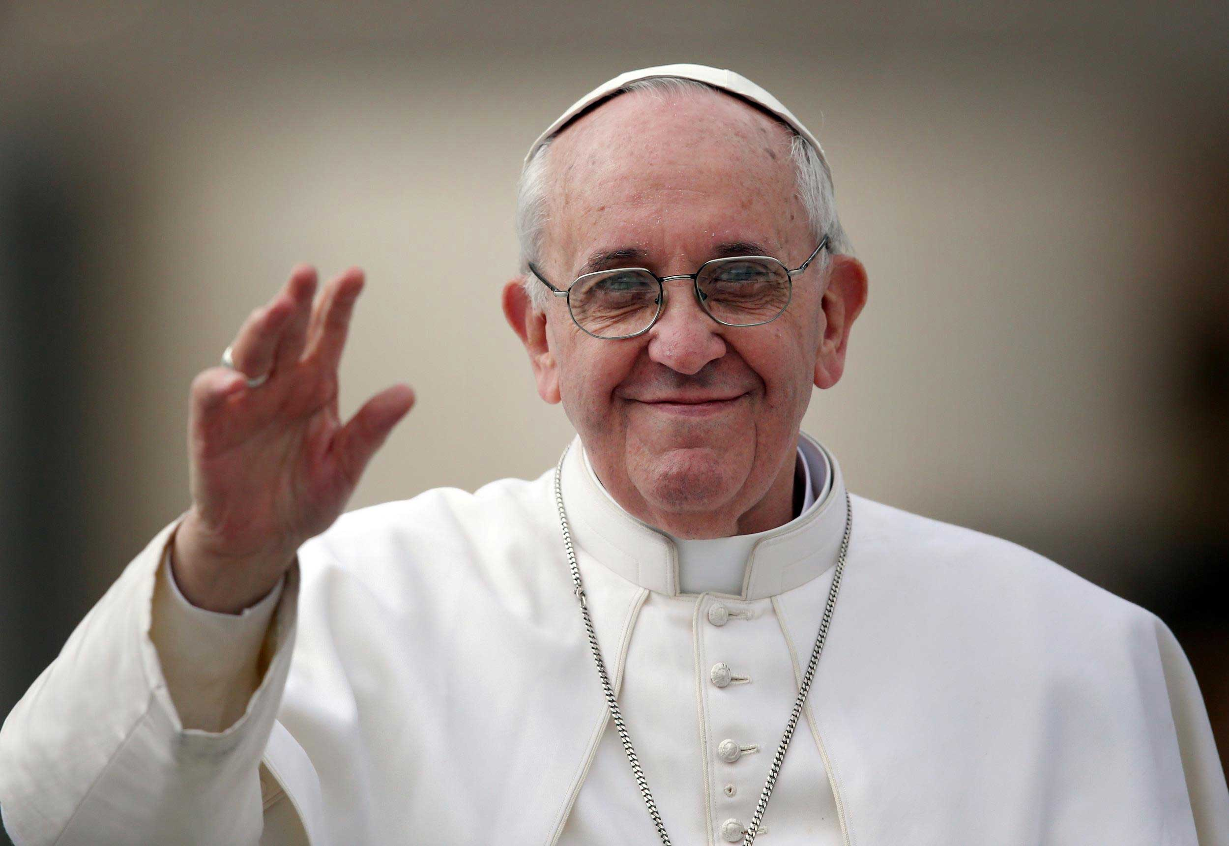 I'm a little old and a little sick: Pope Francis to the elderly