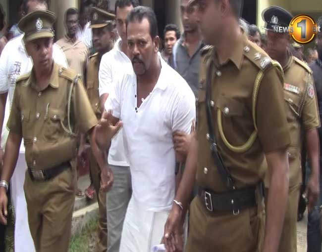 UNP parlimentarian Thewarapperuma further remanded (Watch Video)