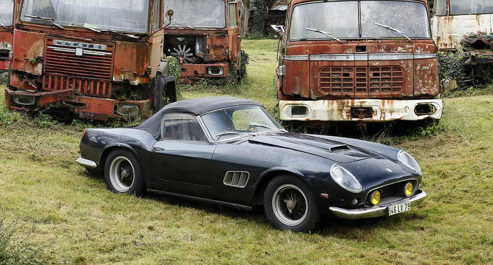 A Treasure Trove Of Retro Cars Discovered In France (VIDEO)