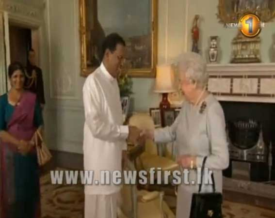 President Sirisena meets Queen Elizabeth as UK vows to support Sri Lanka (Watch Video)