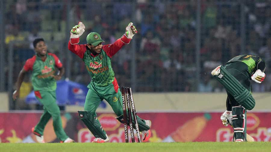 Bangladesh claim massive win over Pakistan