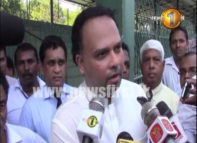 A national crime committed at the Sugathadasa Stadium – reveals Min. Navin Dissanayake