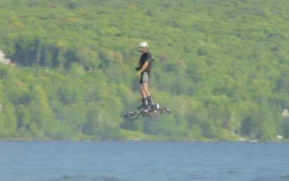 Canadian man sets hoverboard Guinness World Record (Watch video)