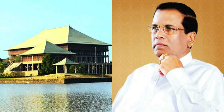 BREAKING:There will be a new Parliament by September: President Maithripala Sirisena