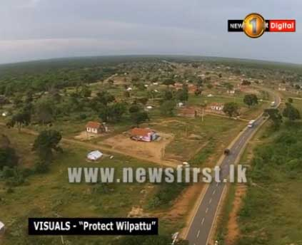 Another deforestation in Wilpattu National Park? (VIDEO)