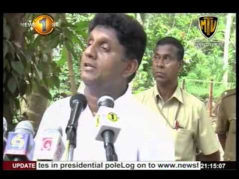 Min. Sajith Premadasa announces plans for serving people without corruption