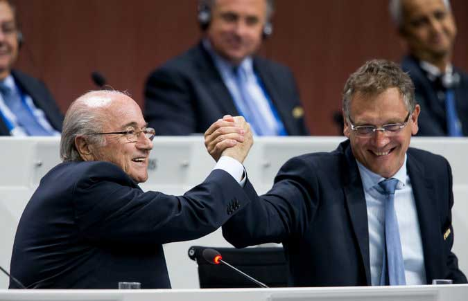 Fifa president Sepp Blatter's top deputy denies allegations against bribery scandal