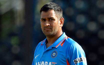 M.S Dhoni steps down as ODI captain