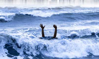 Incidents of drowning reported in Welikanda and Marawila