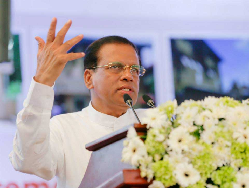 President Sirisena to address 71st UN General Assembly in the US