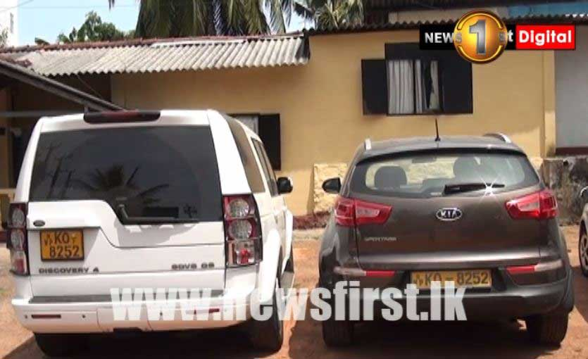 Two SUVs found with same registration number