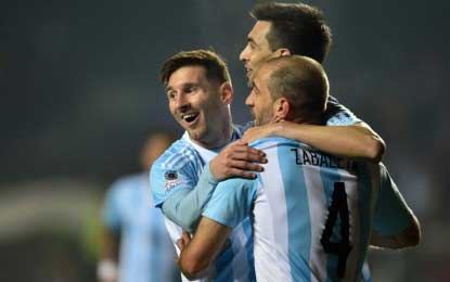 Argentina cement a place in Copa America Final