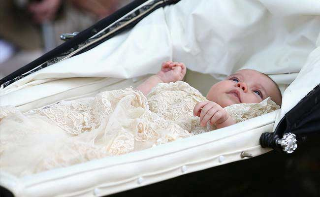Princess Charlotte is christened (Photos)