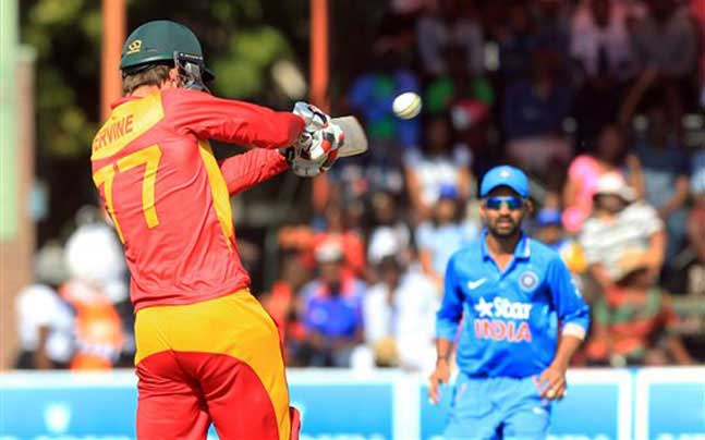 Zimbabwe walks away with a win against India