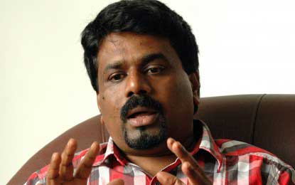 """JVP leader accuses PM of resorting to """"a new form of media suppression"""""""