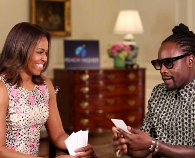 'I want to be Beyonce' : Michelle Obama