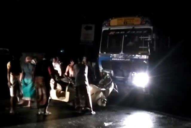 Athurugiriya accident claims lives of five family members