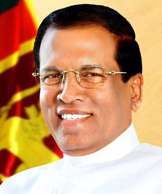 President Sirisena to address New Delhi conference