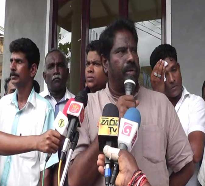 Min. Wijayamuni Zoysa comments on 'consensual govt'