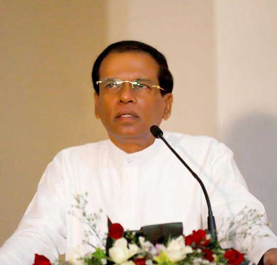 President Sirisena says priority will be given to issues in health sector