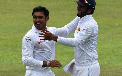 Herath and Siriwardana seal series win