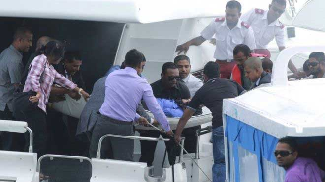 Maldives speedboat explosion : Two presidential aides arrested