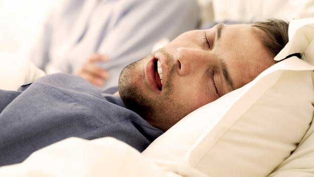 A wireless device to stop snoring (Video)