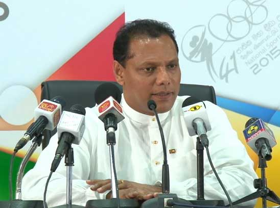 Sports Minister speaks of steps being taken to avoid possible 'international suspension'