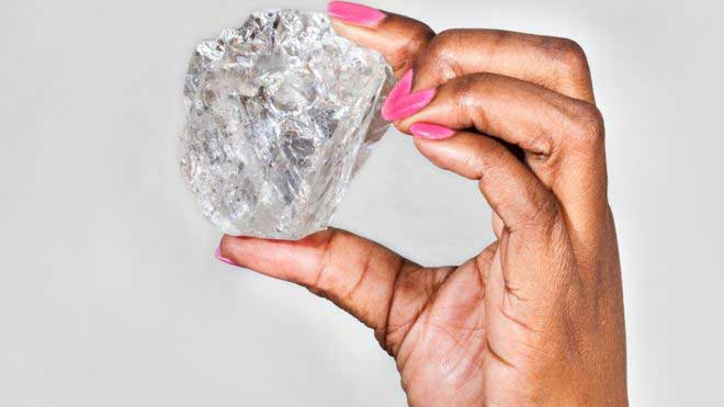 World's second largest diamond 'found in Botswana'