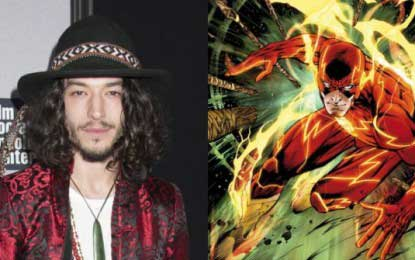 "Ezra Miller talks about playing Barry Allen as ""The Flash"""