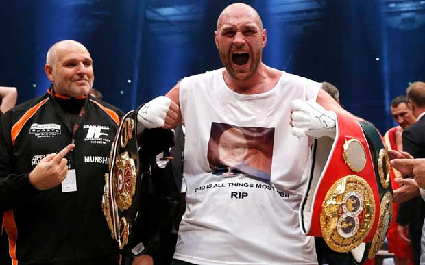 Briton Tyson Fury shocks boxing world by beating Klitschko