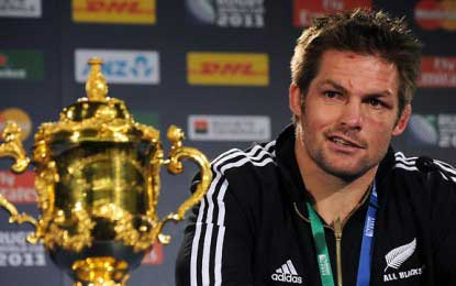 Rugby: Richie McCaw hangs up his boots