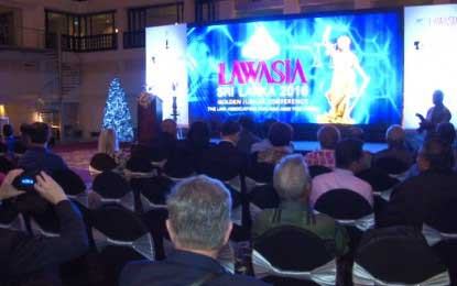 Golden Jubilee celebrations of LAWASIA launched in Sri Lanka