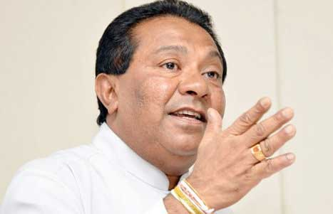 Min. S.B. Dissanayake warns SLFP members