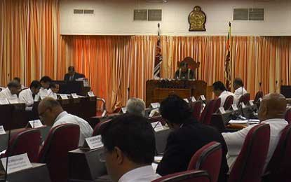 Western Provincial Council Budget passed unanimously