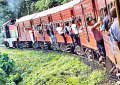 Railway trade unions to strike at midnight