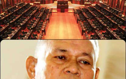Political parties make their claim for vacant seat in parliament