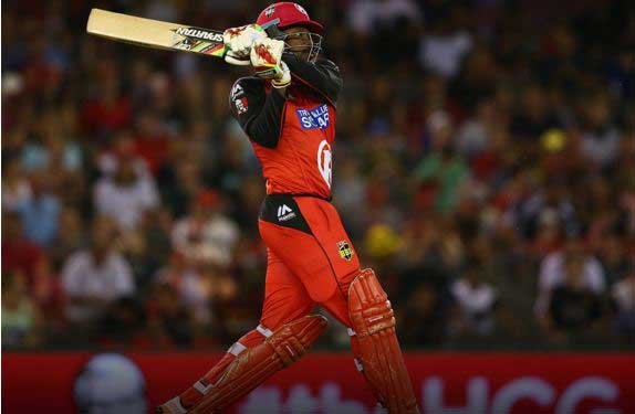 Chris Gayle equals record for fastest T20 half-century