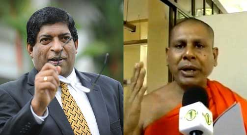 Finance Minister and  Ven. Seelarathana Thera comment on recent arrests